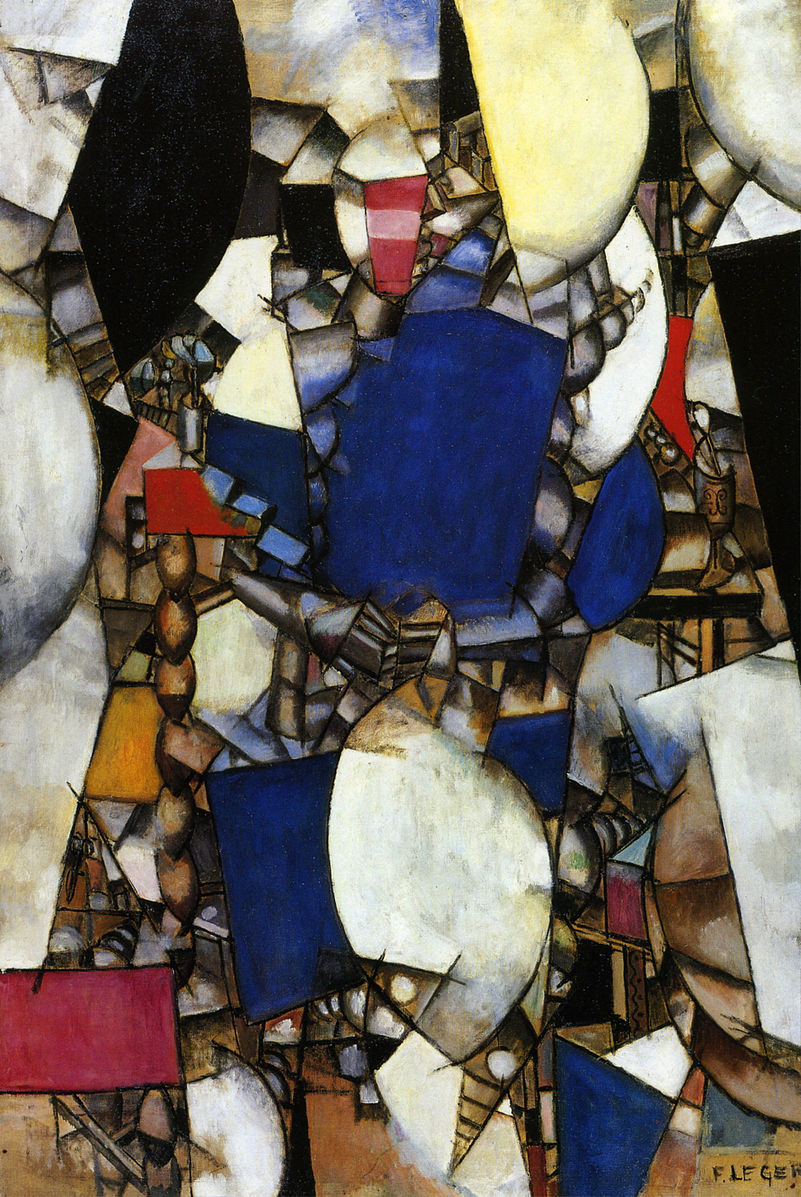 Fernand_Léger,_Woman_in_Blue,_Femme_en_Bleu,_1912,_oil_on_canvas,_193_x_129.9_cm